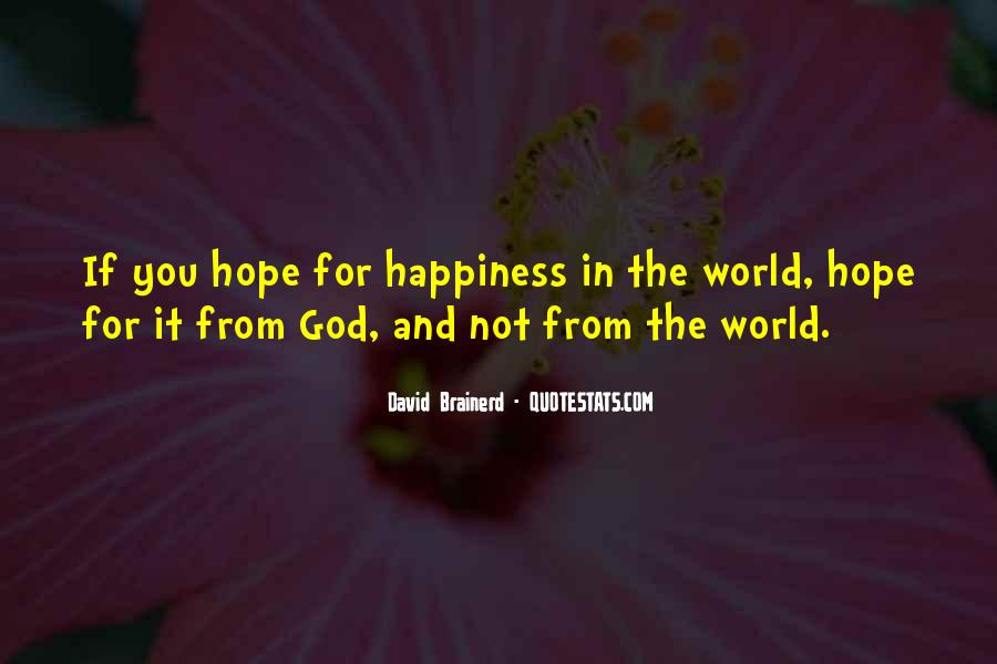 Quotes About The World And God #86486