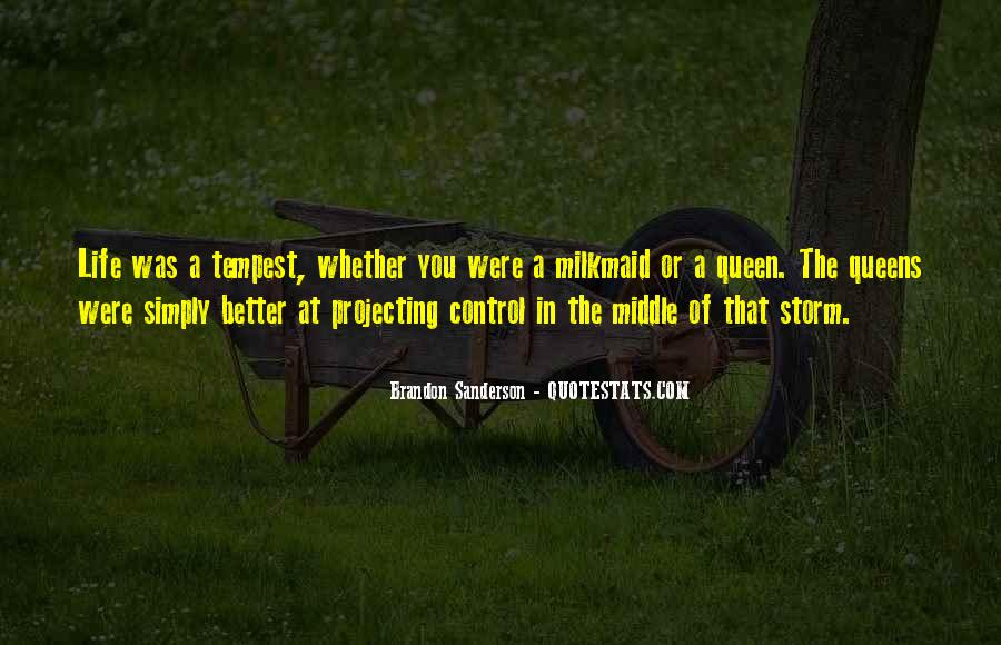 Milkmaid's Quotes #897521