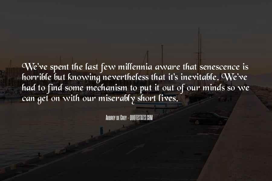 Millennia's Quotes #1127934