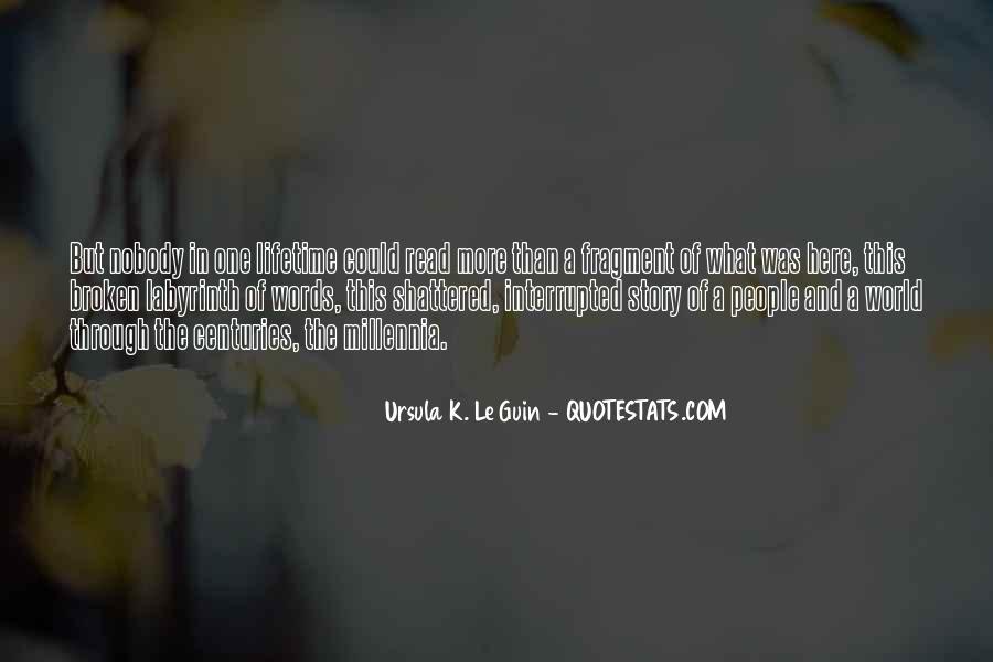 Millennia's Quotes #754406