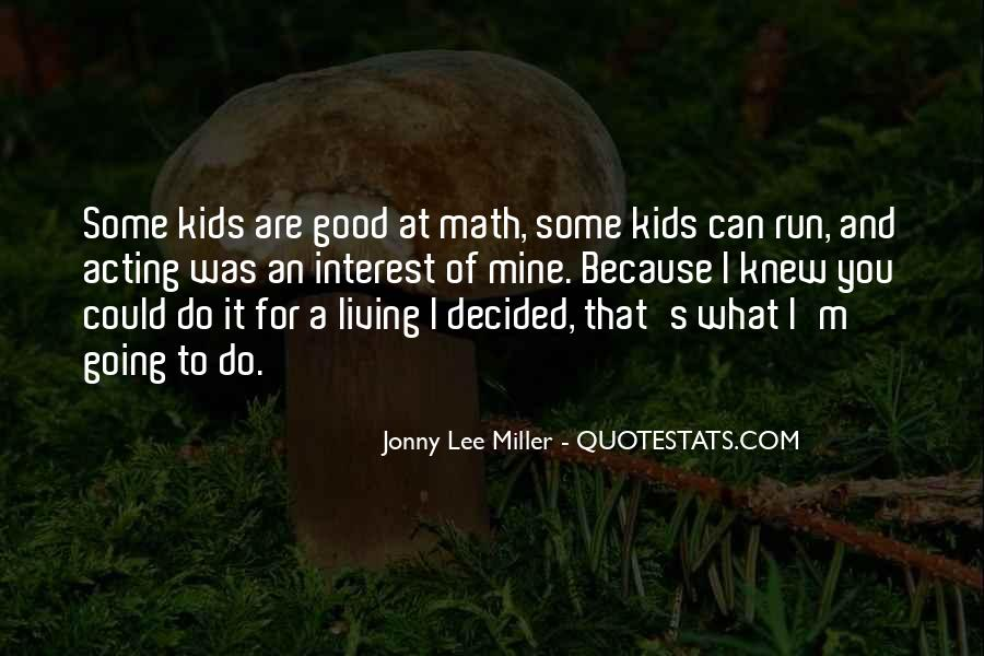 Miller's Quotes #13385