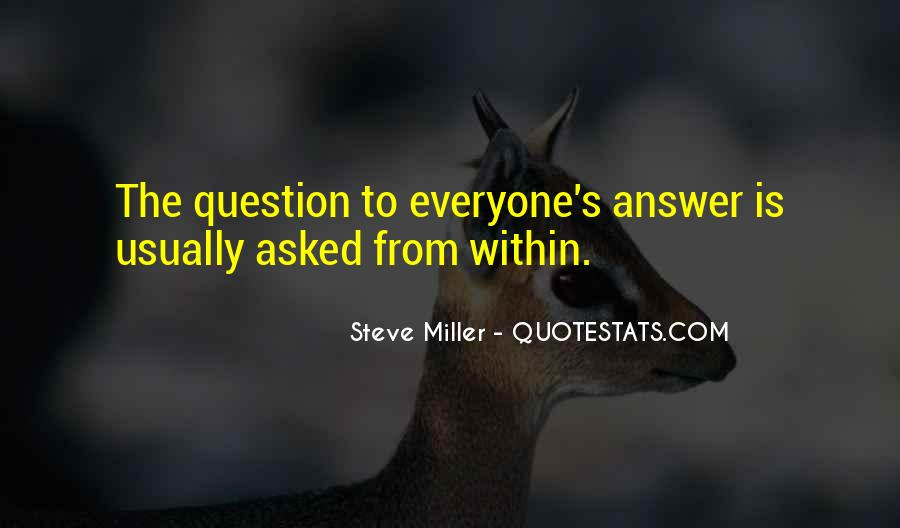 Miller's Quotes #142446