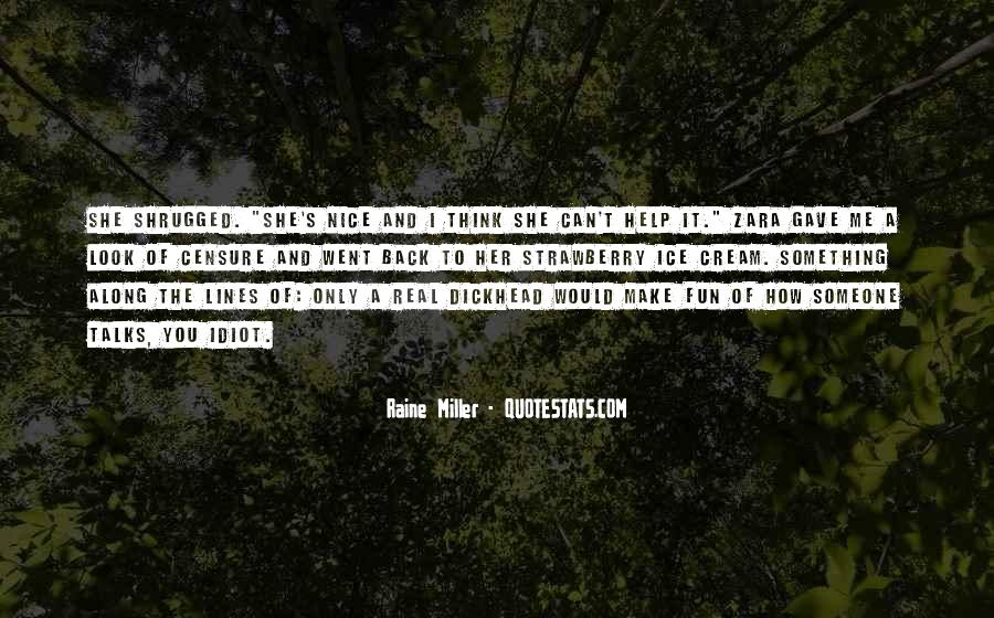 Miller's Quotes #37305