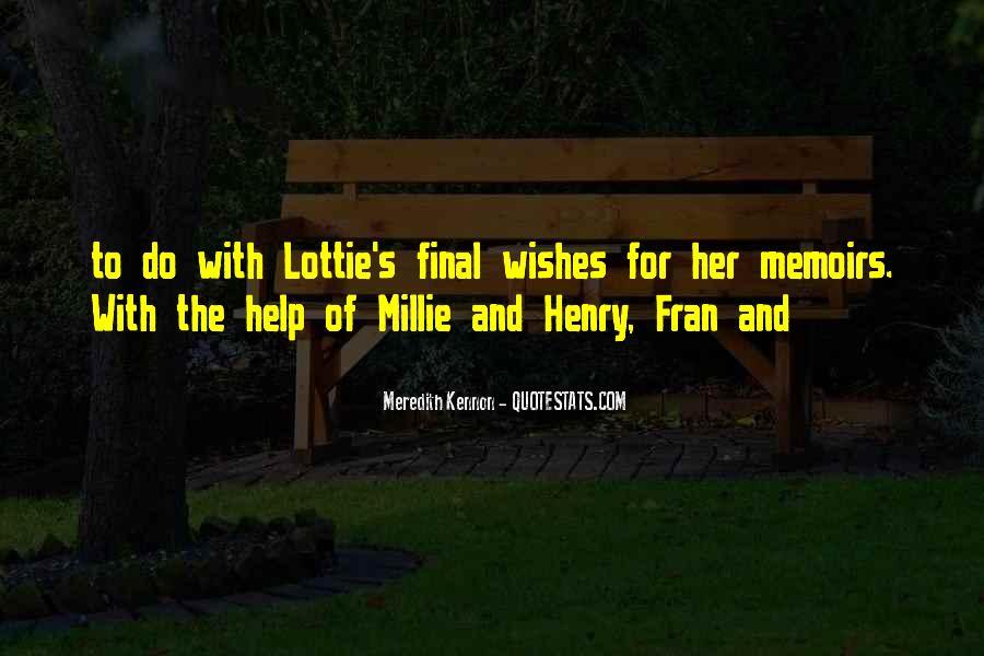 Millie's Quotes #1843653