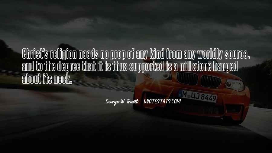 Millstone Quotes #1488128