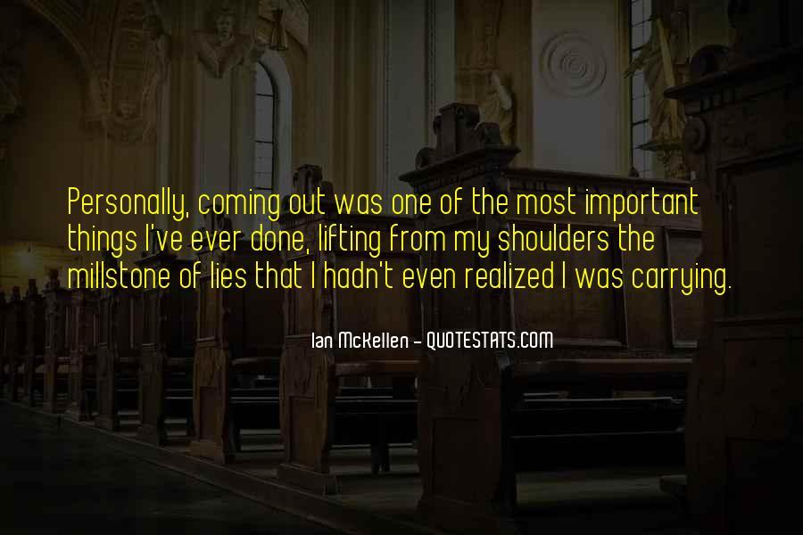 Millstone Quotes #374647