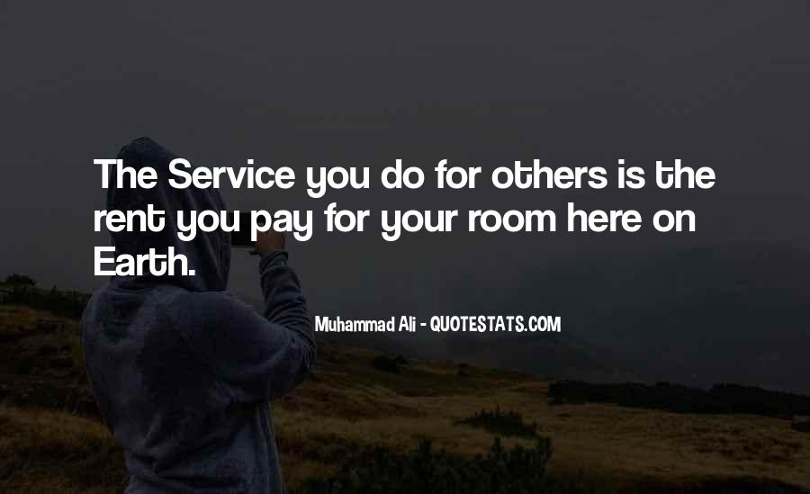 Quotes About Room Service #1411270