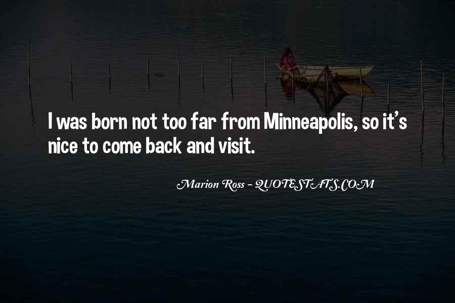 Minneapolis's Quotes #387327