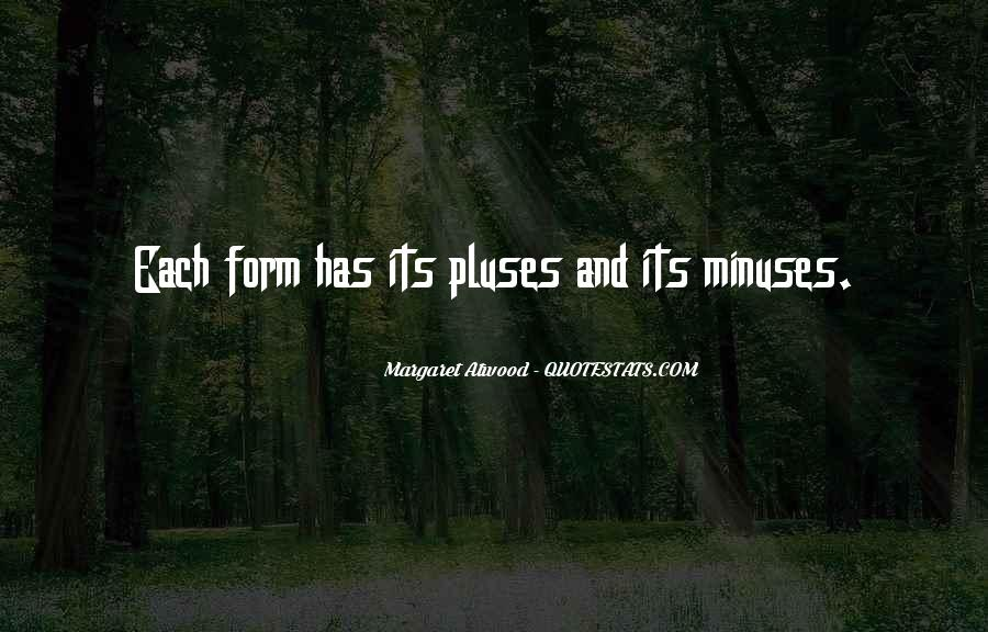 Minuses Quotes #1391270