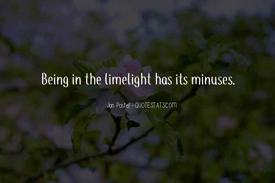 Minuses Quotes #1731908