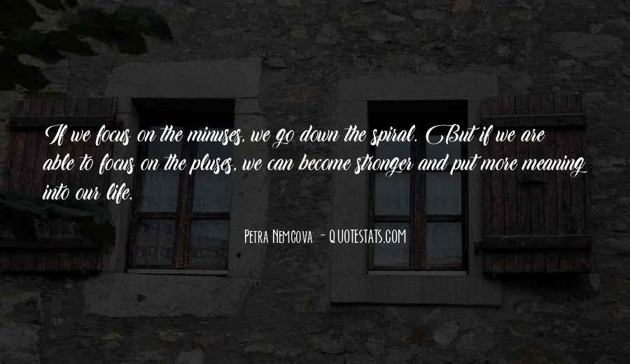 Minuses Quotes #20696
