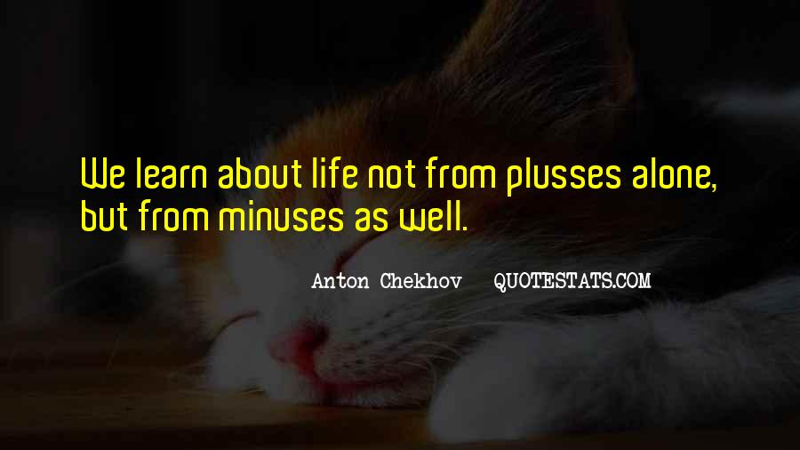 Minuses Quotes #828585
