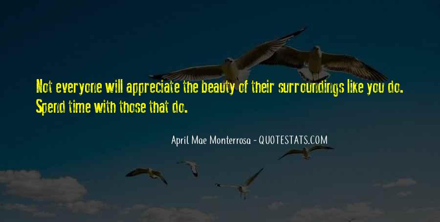 Quotes About Appreciation Of Nature #1154725