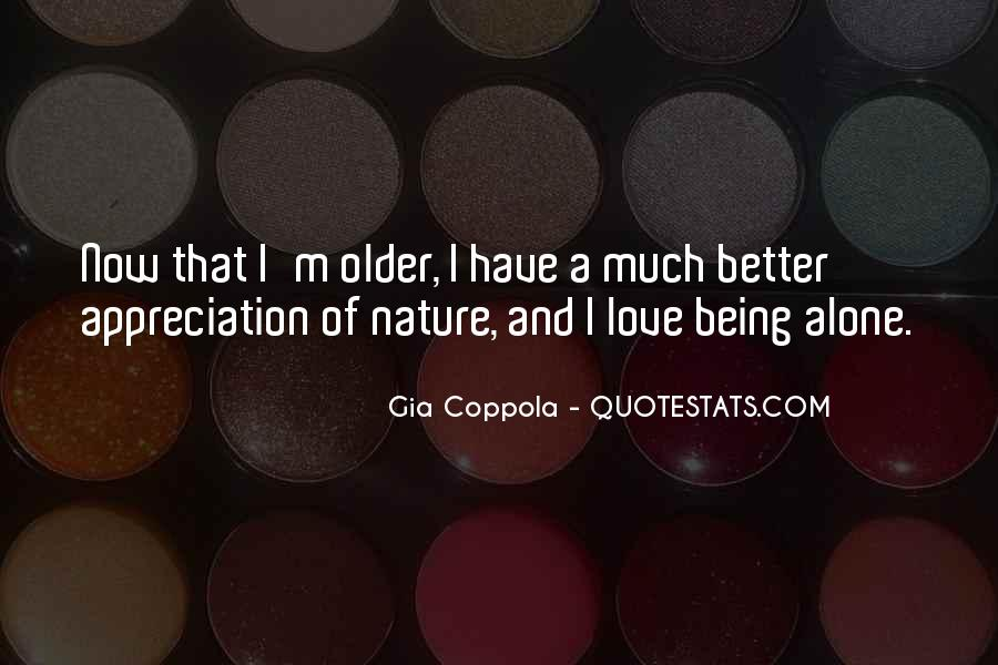 Quotes About Appreciation Of Nature #494156