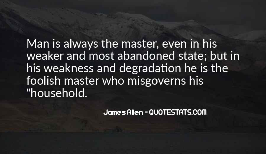 Misgoverns Quotes #1443589