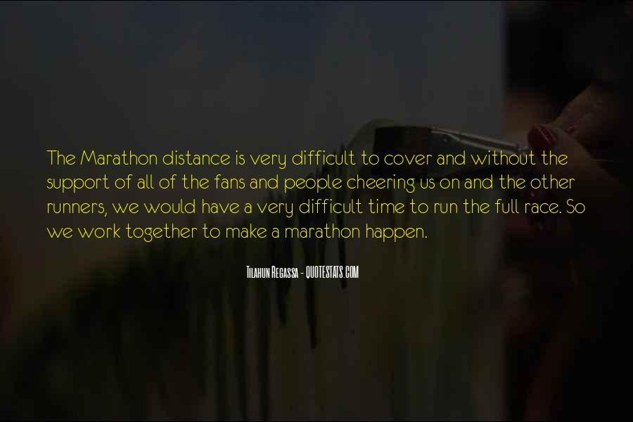 Quotes About Distance Runners #1302965