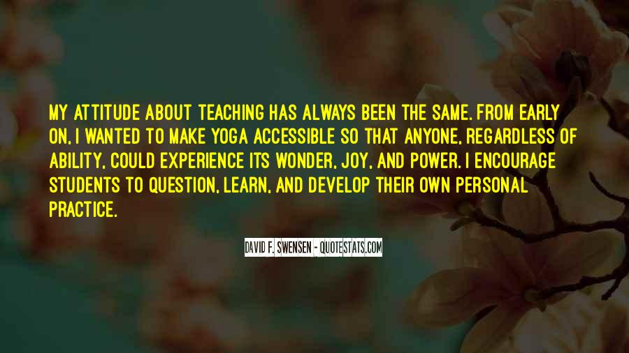 Quotes About Teaching Students #138460