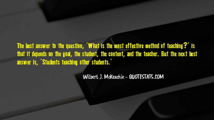 Quotes About Teaching Students #202362