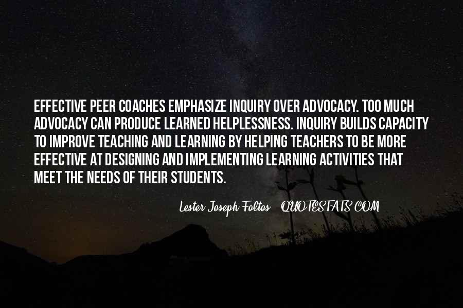 Quotes About Teaching Students #211559