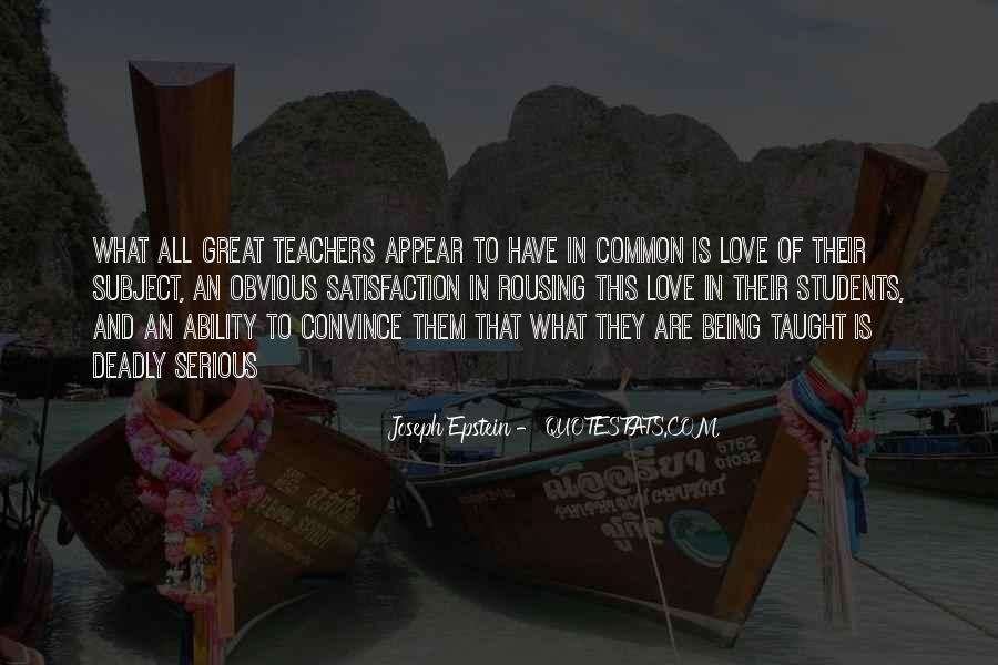 Quotes About Teaching Students #263957