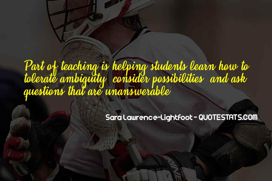 Quotes About Teaching Students #308972