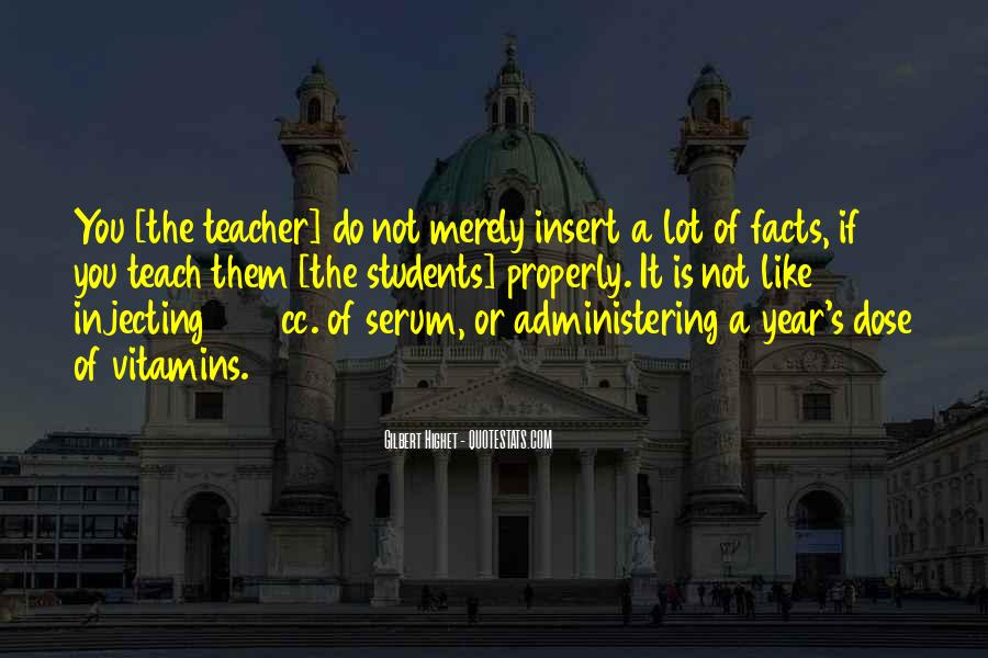 Quotes About Teaching Students #310884