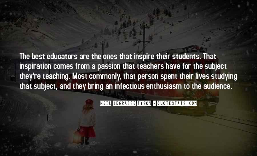 Quotes About Teaching Students #528195