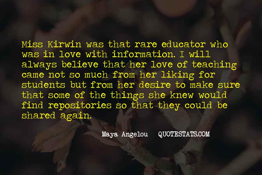 Quotes About Teaching Students #959226