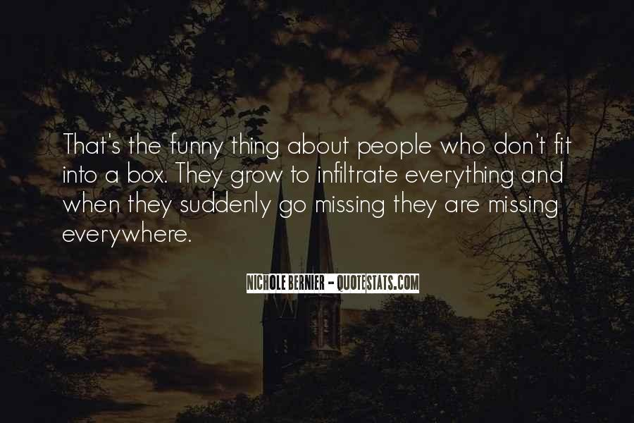 Missing's Quotes #105142