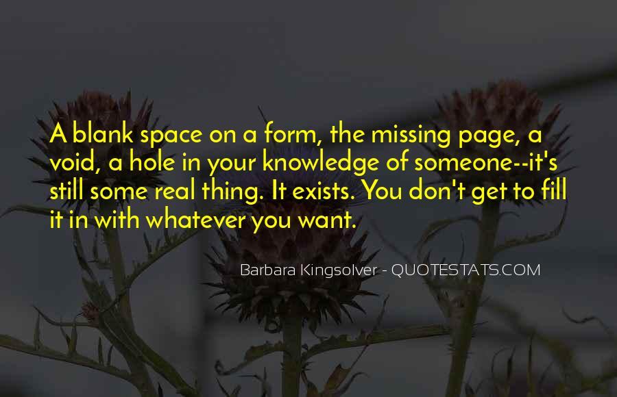 Missing's Quotes #106059