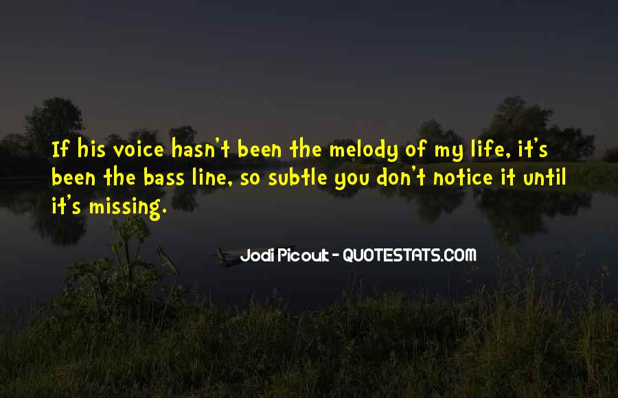 Missing's Quotes #107915
