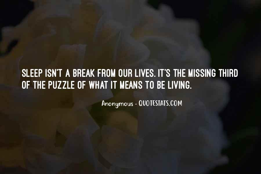 Missing's Quotes #227594