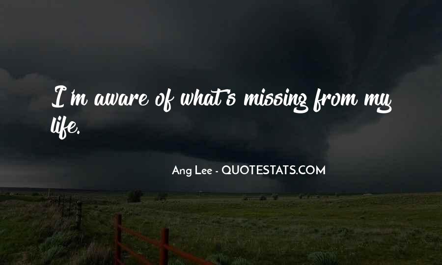 Missing's Quotes #244340