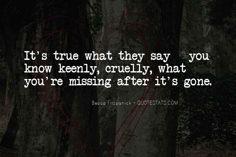 Missing's Quotes #252296