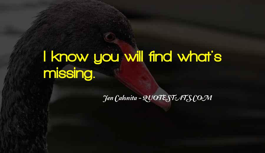 Missing's Quotes #82195