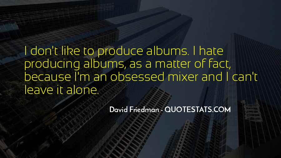 Mixer's Quotes #625036