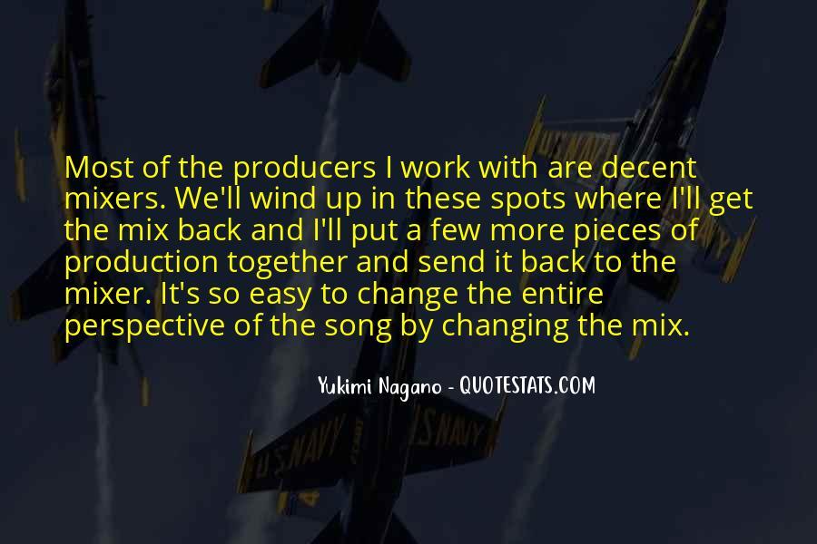 Mixer's Quotes #831552