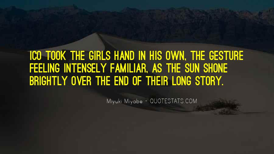 Miyuki Quotes #1871248