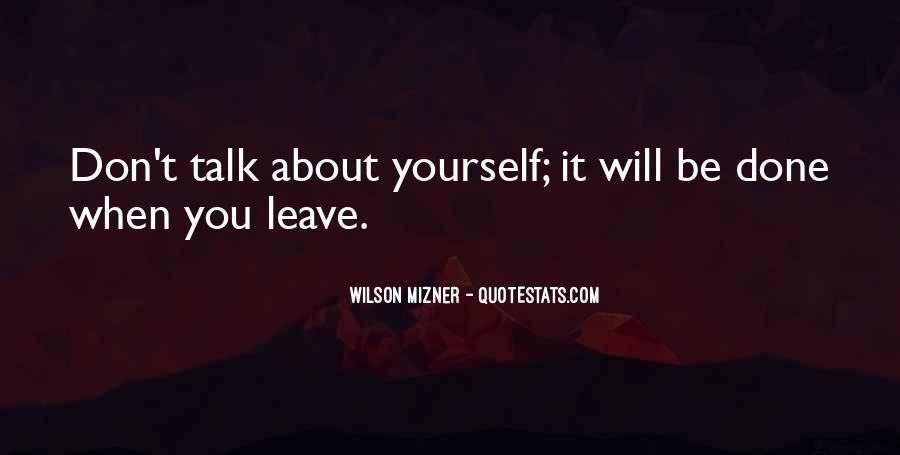 Mizner's Quotes #1349171