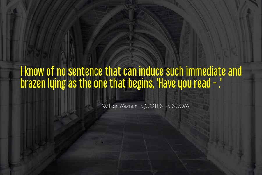Mizner's Quotes #1637002