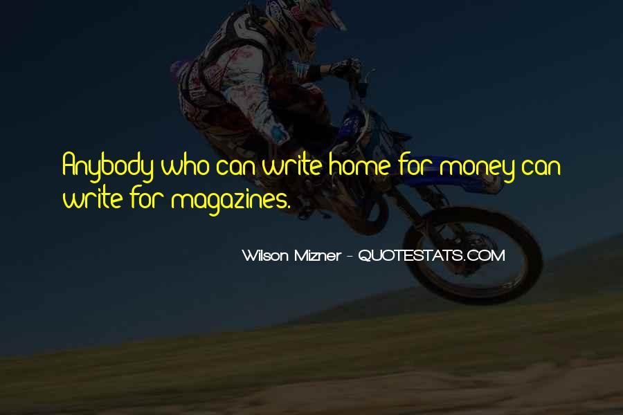Mizner's Quotes #998238