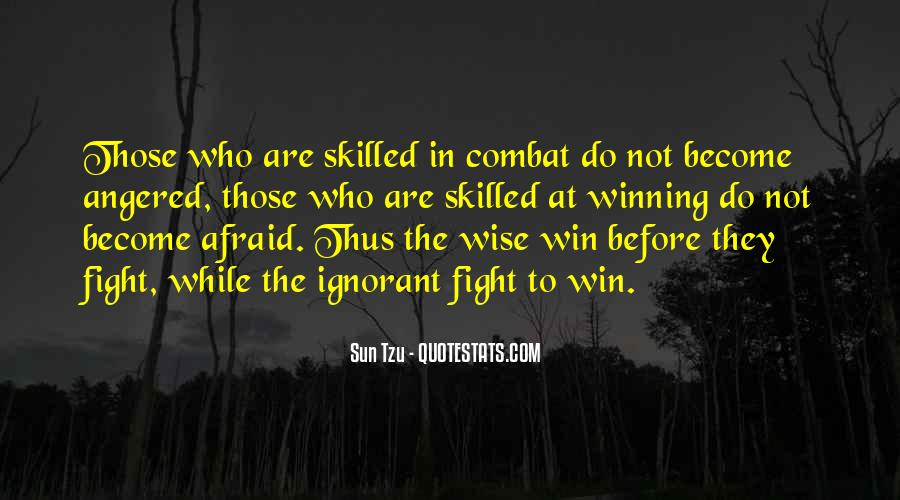 Quotes About Winning The Fight #1011383