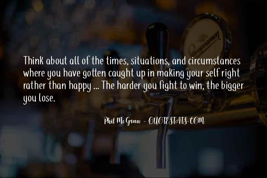 Quotes About Winning The Fight #1042380