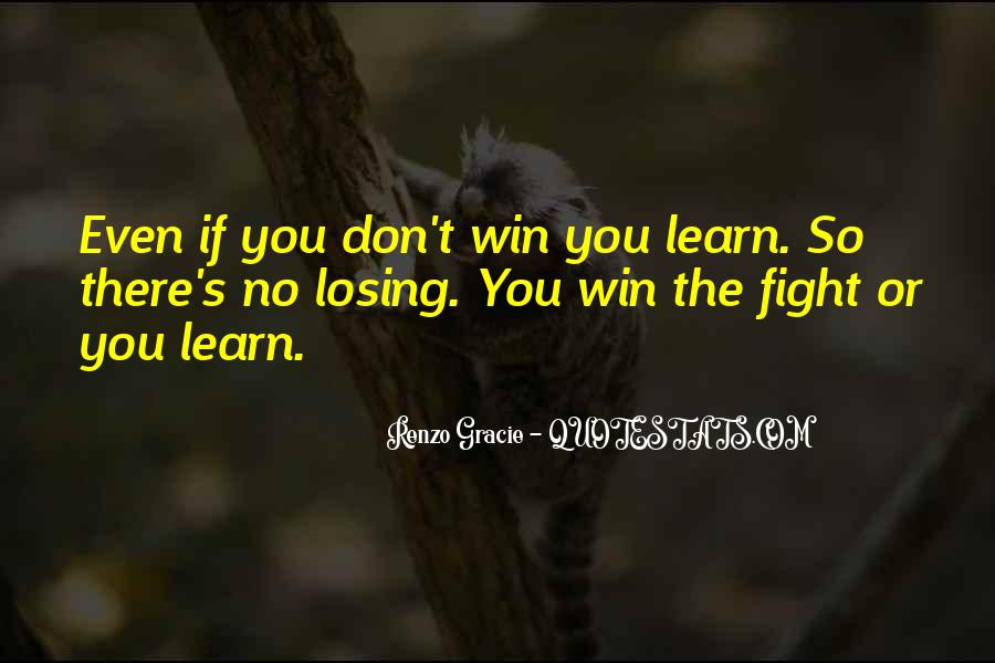 Quotes About Winning The Fight #1164111