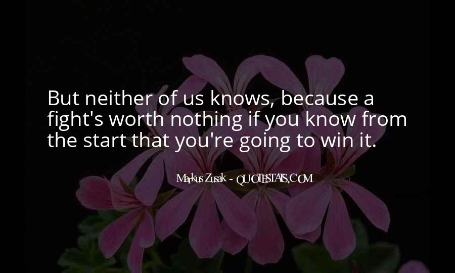 Quotes About Winning The Fight #117718