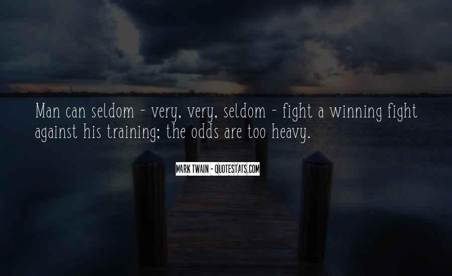 Quotes About Winning The Fight #1250066