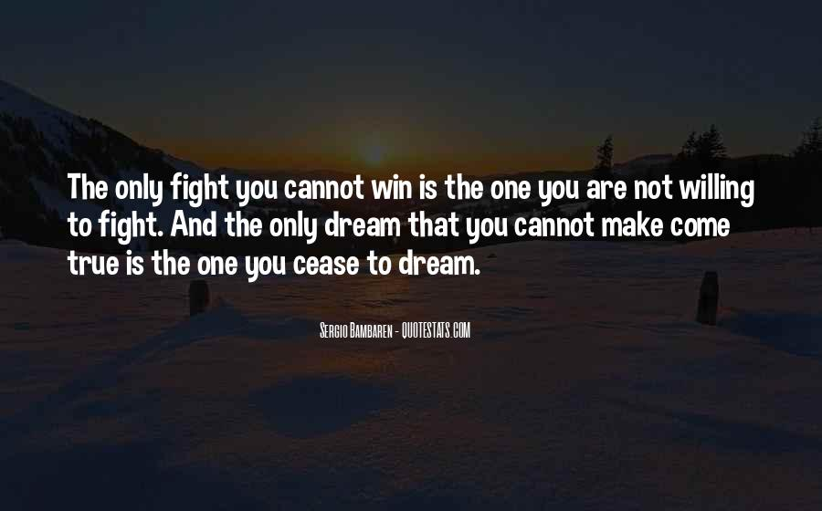 Quotes About Winning The Fight #1257424