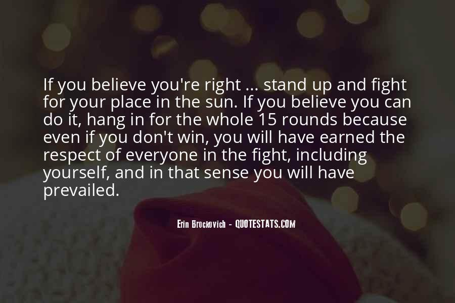 Quotes About Winning The Fight #1466002