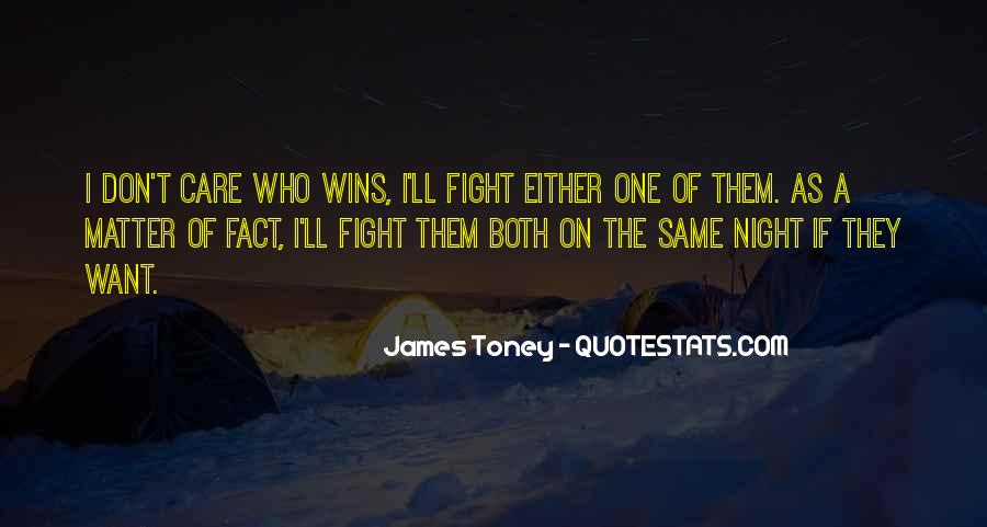 Quotes About Winning The Fight #210357
