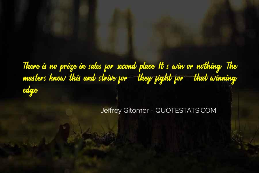 Quotes About Winning The Fight #298053